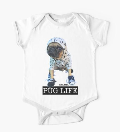PUG LIFE PEE WEE One Piece - Short Sleeve