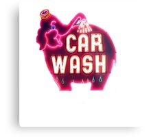 elephant car wash Metal Print