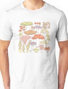 Cute Mushrooms Unisex T-Shirt