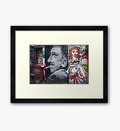 Street Art - Melbourne Australia Framed Print