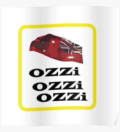 OZZi-OZZi-OZZi.   Australiana. Clothes,prints, & gifts. Poster