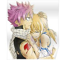 Natsu and Lucy Fairy Tail Poster