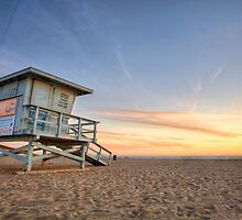 Santa Monica Sunset #3 by Graham Gilmore