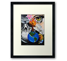 Midnite in the Garden of Good and Evil Framed Print