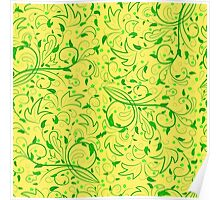 Seamless floral pattern. Poster