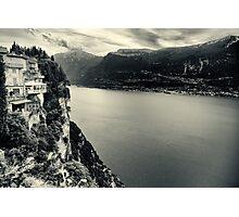 Pieve - Lake Garda - Italy Photographic Print