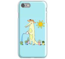 Garden Gator  iPhone Case/Skin