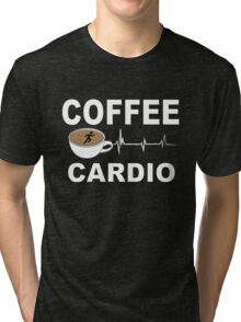 COFFEE CARDIO Tri-blend T-Shirt