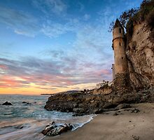 Beach Tower at Sunset by Graham Gilmore