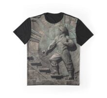Monument to the conquerors of space Graphic T-Shirt
