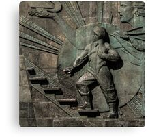 Monument to the conquerors of space Canvas Print