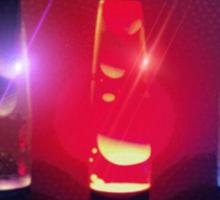 lava lamps Sticker