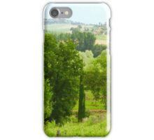 Tuscan Vineyard iPhone Case/Skin