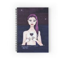 Amethyst (February) Spiral Notebook