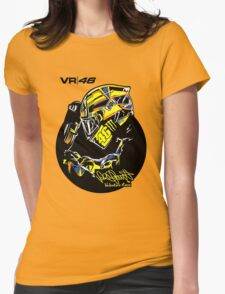VALENTINO ROSSI Womens Fitted T-Shirt