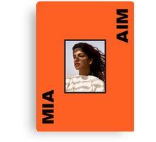 MIA - AIM Canvas Print