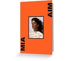 MIA - AIM Greeting Card