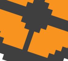 Pixel Fortress 2 - Blu Sticker