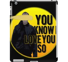 And it Was All Yellow iPad Case/Skin