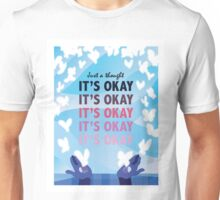 It's Okay Illustrated Quote Unisex T-Shirt