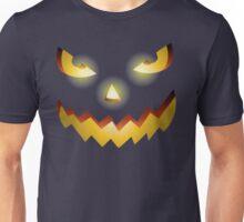 Jack O Lantern Pumpkin Face Angry Halloween Spooky Boo Unisex T-Shirt
