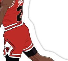 Michael Jordan Dunk Sticker