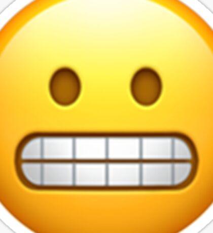 Emoji Teeth Sticker