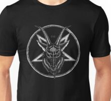 Pentagram Goat Head Unisex T-Shirt