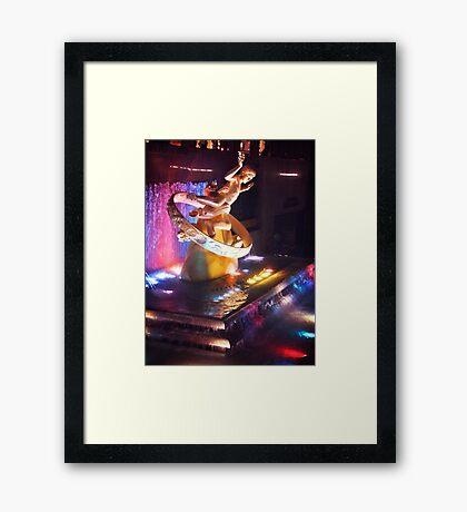 Rockefeller Plaza  Framed Print