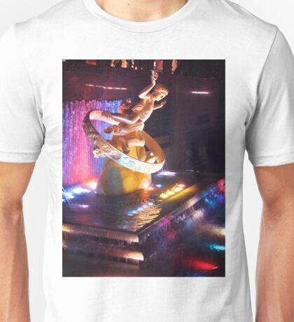 Rockefeller Plaza  Unisex T-Shirt
