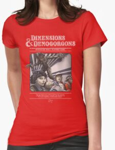 Dimensions & Demogorgons Womens Fitted T-Shirt