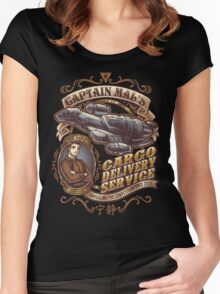Capt. Mal's Cargo Delivery Women's Fitted Scoop T-Shirt