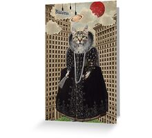 Lost In The City -- Animal Collection Greeting Card