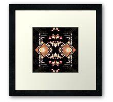 Mirrored Mandelbrot Framed Print
