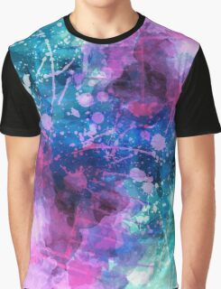 Space Abstract Graphic T-Shirt