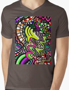 exuberant motions Mens V-Neck T-Shirt