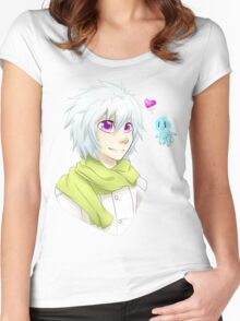 DRAMAtical Murder Clear Women's Fitted Scoop T-Shirt
