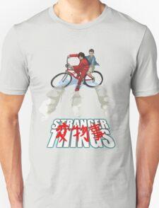 Stranger Things X AKIRA mashup Unisex T-Shirt