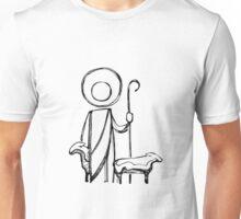 Jesus Good Shepherd illustration Unisex T-Shirt
