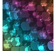 Apple Bokeh  Photographic Print