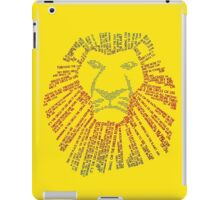 The Circle Of Life iPad Case/Skin