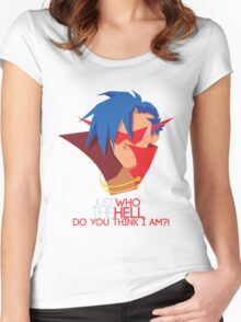 Just who the hell do you think I am?! Women's Fitted Scoop T-Shirt
