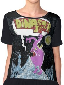 TRzAN04 Dinosaur Jr Tour 2016 Chiffon Top