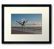 Sunrise Dancer 1 Framed Print