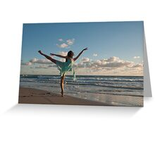 Sunrise Dancer 1 Greeting Card
