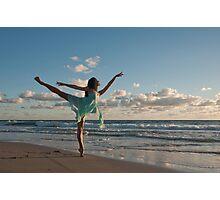 Sunrise Dancer 1 Photographic Print