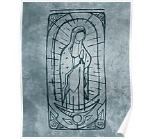 Mary Virgin of Guadalupe Poster