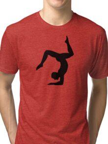 Yoga man Tri-blend T-Shirt