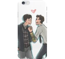 Hermann and Newt iPhone Case/Skin
