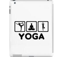 Yoga exercises iPad Case/Skin